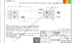 CRBC 40035 IKO CROSSED ROLLER BEARING