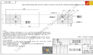 CRBC 40070 IKO CROSSED ROLLER BEARING