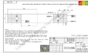 CRBC 50050 IKO CROSSED ROLLER BEARING