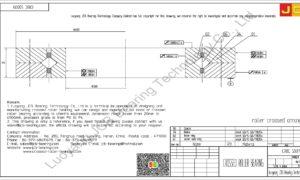 CRBC 50070 IKO CROSSED ROLLER BEARING