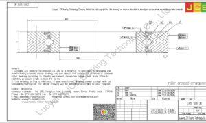 CRBC 5013 UU IKO CROSSED ROLLER BEARING