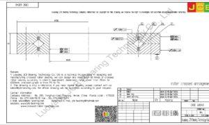 CRBC 60040 IKO CROSSED ROLLER BEARING