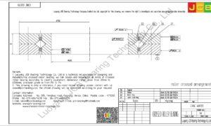 CRBC 60070 IKO CROSSED ROLLER BEARING