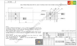 CRBC 6013 IKO CROSSED ROLLER BEARING