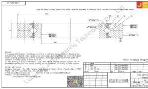 CRBC 6013 UU IKO CROSSED ROLLER BEARING