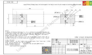 CRBC 7013 UU IKO CROSSED ROLLER BEARING