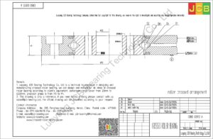 CRBD 02012 A HIWIN CROSSED ROLLER BEARING