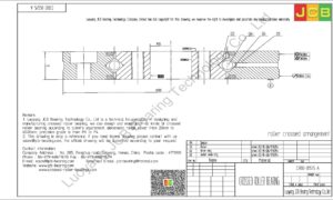 CRBD 05515 A HIWIN CROSSED ROLLER BEARING