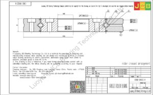 CRBD 08022 B HIWIN CROSSED ROLLER BEARING