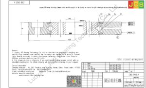 CRBD 09025 A HIWIN CROSSED ROLLER BEARING