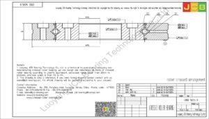 CRBD 16035 B HIWIN CROSSED ROLLER BEARING