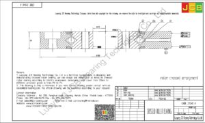 CRBE 21040 A HIWIN CROSSED ROLLER BEARING