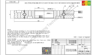 CRBE 21040 C HIWIN CROSSED ROLLER BEARING