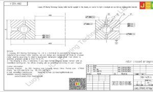 CRBH 14025 A IKO CROSSED ROLLER BEARING