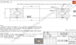 CRBHV 10020 A UU IKO CROSSED ROLLER BEARING