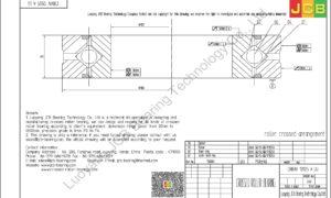 CRBHV 12025 A UU IKO CROSSED ROLLER BEARING