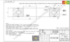 CRBHV 15025 A UU IKO CROSSED ROLLER BEARING