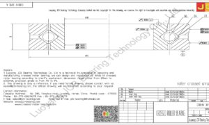 CRBHV 3010 A IKO CROSSED ROLLER BEARING