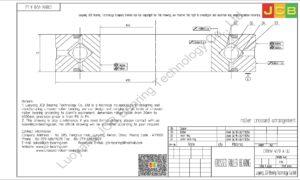 CRBHV 4510 A UU IKO CROSSED ROLLER BEARING