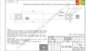 CRBT 405 A IKO CROSSED ROLLER BEARING