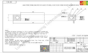 CRBT 505 A IKO CROSSED ROLLER BEARING
