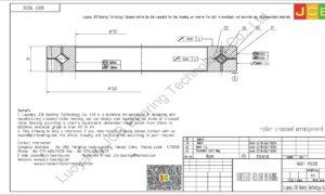 NRXT 11020E NSK CROSSED ROLLER BEARING