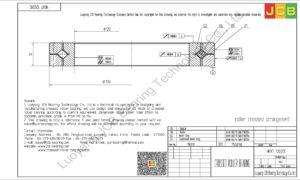 NRXT 12020E NSK CROSSED ROLLER BEARING