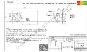 NRXT 12025DD NSK CROSSED ROLLER BEARING