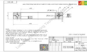 NRXT 12025E NSK CROSSED ROLLER BEARING