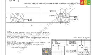 NRXT 13025DD NSK CROSSED ROLLER BEARING