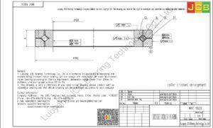 NRXT 13025E NSK CROSSED ROLLER BEARING
