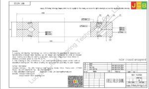 NRXT 14025DD NSK CROSSED ROLLER BEARING