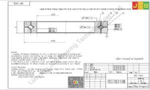NRXT 14025E NSK CROSSED ROLLER BEARING