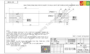 NRXT 15025DD NSK CROSSED ROLLER BEARING