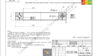 NRXT 15025E NSK CROSSED ROLLER BEARING