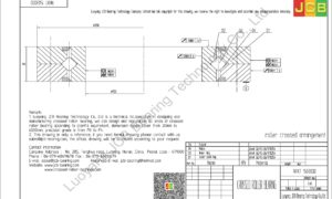 NRXT 15030DD NSK CROSSED ROLLER BEARING