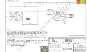 NRXT 20025DD NSK CROSSED ROLLER BEARING