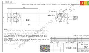 NRXT 20030DD NSK CROSSED ROLLER BEARING