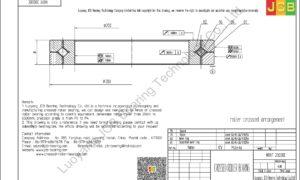 NRXT 20030E NSK CROSSED ROLLER BEARING