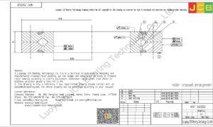 NRXT 25025DD NSK CROSSED ROLLER BEARING