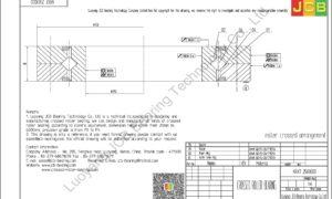 NRXT 25030DD NSK CROSSED ROLLER BEARING