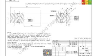 NRXT 2508DD NSK CROSSED ROLLER BEARING