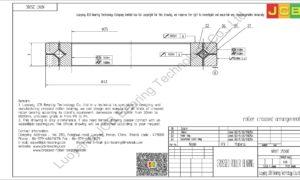 NRXT 2508E NSK CROSSED ROLLER BEARING