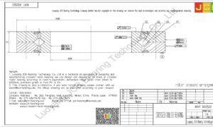 NRXT 30025DD NSK CROSSED ROLLER BEARING