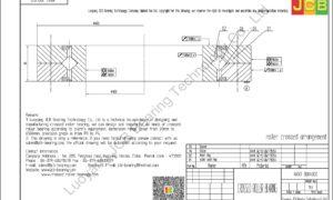 NRXT 30040DD NSK CROSSED ROLLER BEARING