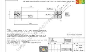 NRXT 30040E NSK CROSSED ROLLER BEARING