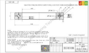 NRXT 40035E NSK CROSSED ROLLER BEARING