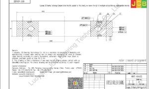 NRXT 40040DD NSK CROSSED ROLLER BEARING