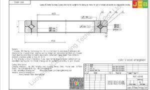 NRXT 40040E NSK CROSSED ROLLER BEARING