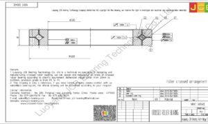 NRXT 50040E NSK CROSSED ROLLER BEARING